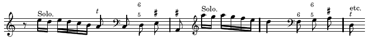 Pasquini sonata, 1st movement