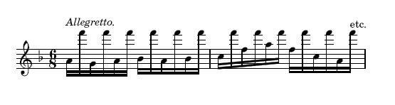 Woelfl, 8th Variation